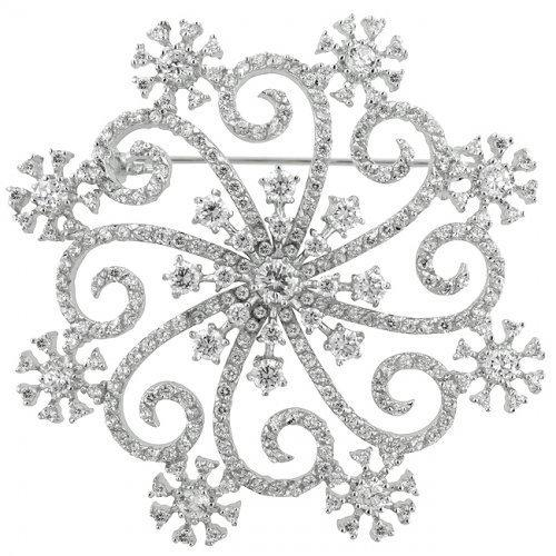 Snowflake Brooch (pack of 1 ea)