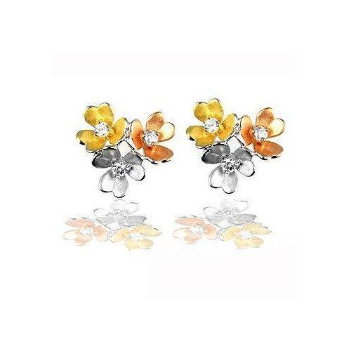 Cluster Blossom Earrings (pack of 1 ea)