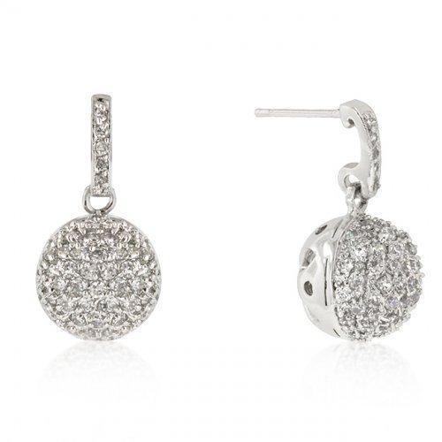 Crystal Ball Dangle Earrings (pack of 1 ea)