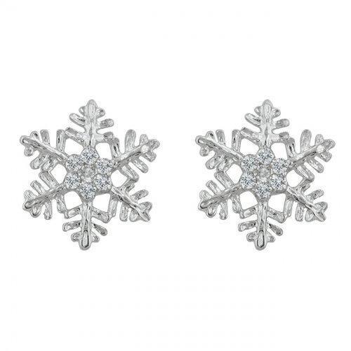 Snowflake Stud Earrings (pack of 1 ea)