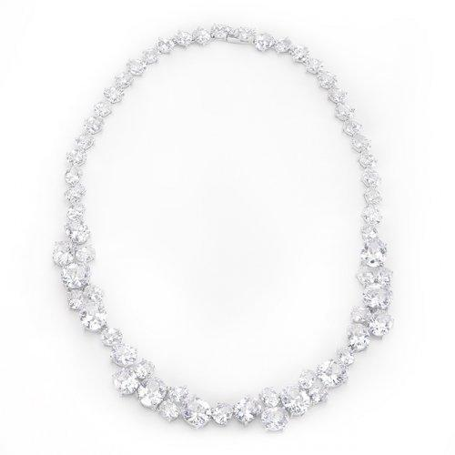 Bejeweled Cz Collar Necklace (pack of 1 ea)