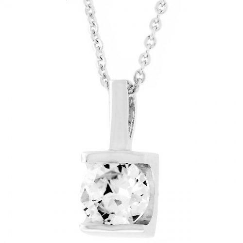 Classic Framed Solitaire Pendant (pack of 1 ea)