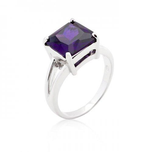 Amethyst Gypsy Ring (size: 06) (pack of 1 ea)