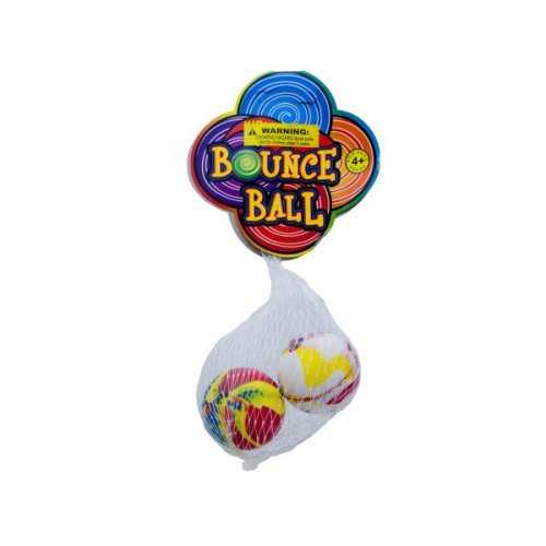 2 Pack Super Bounce Balls (pack of 24)
