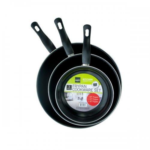 3 Piece 6/8/10 Inch Frying Pan Set (pack of 1)