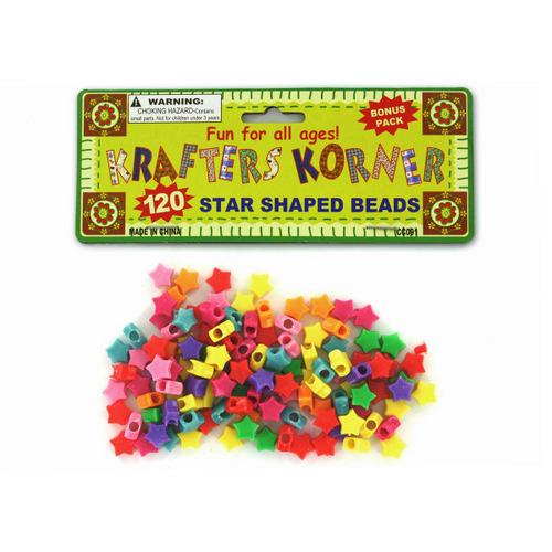 Star Shaped Crafting Beads (pack of 24)