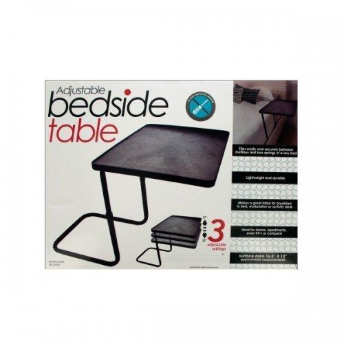 Adjustable Bedside Table (pack of 1)