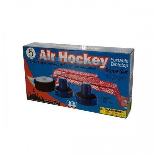 Portable Tabletop Air Hockey Game Set (pack of 1)