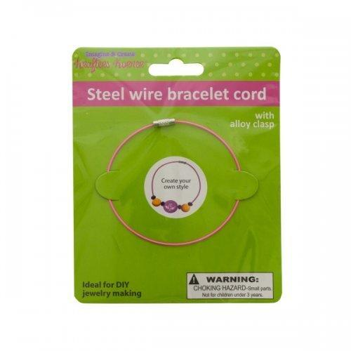 Steel Wire Craft Bracelet (pack of 12)