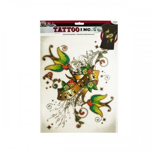 Iron-on Live Free Tattoo Transfer (pack of 24)
