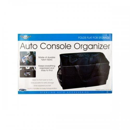Auto Console Organizer With Multiple Pockets (pack of 4)