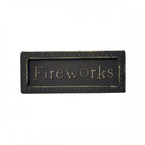 Fireworks Mini Metal Sign Magnet (pack of 18)