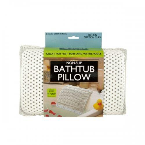 Non-slip Bathtub Pillow With Suction Cups (pack of 1)