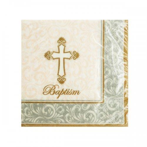 Baptism Divinity Beverage Napkins (pack of 24)