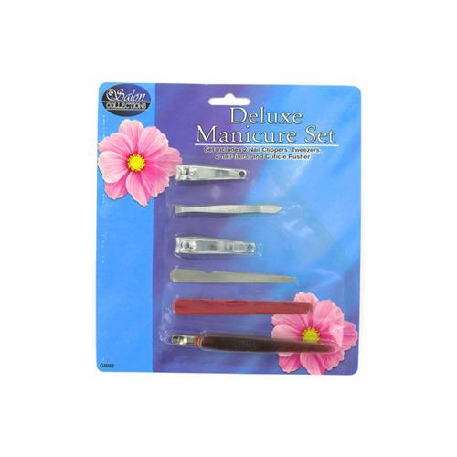 6 Pack Manicure Set (pack of 24)