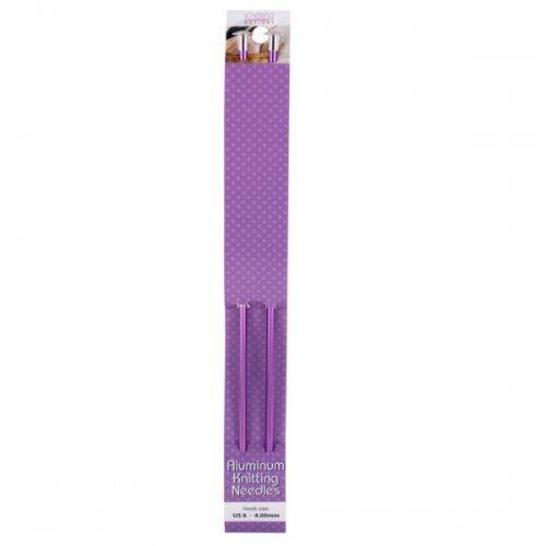 Lightweight Aluminum Knitting Needles Set (pack of 24)