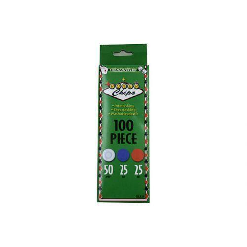 Plastic Poker Chips (pack of 24)
