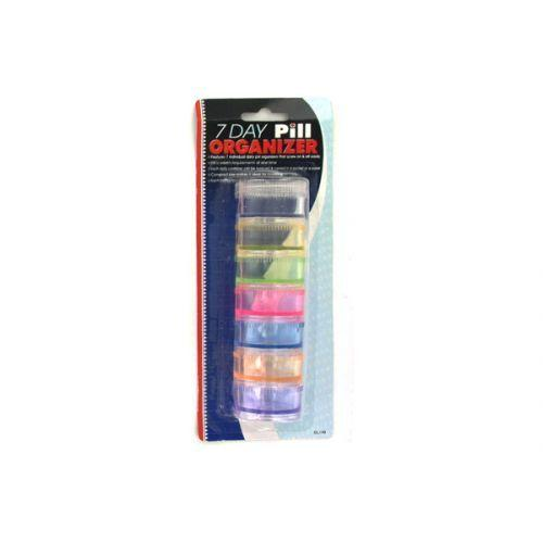 7 Day Pill Organizer (pack of 24)
