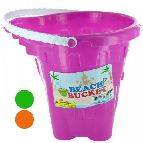 Beach Sand Play Bucket (pack of 12)