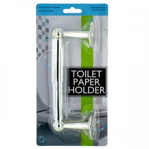 Chrome Color Toilet Paper Holder (pack of 12)