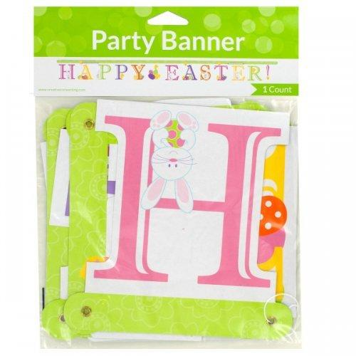 'happy Easter!' Jointed Party Banner (pack of 36)