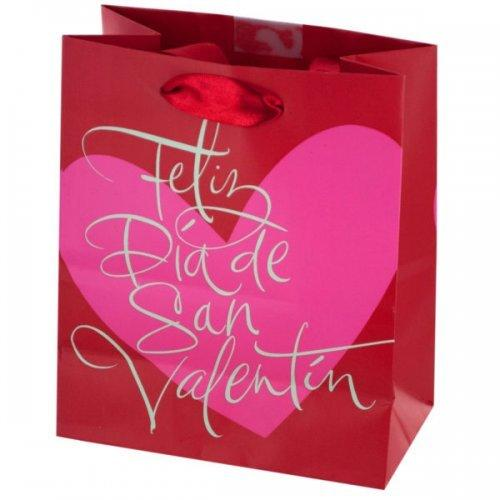 Feliz Dia De San Valentin Gift Bag (pack of 36)
