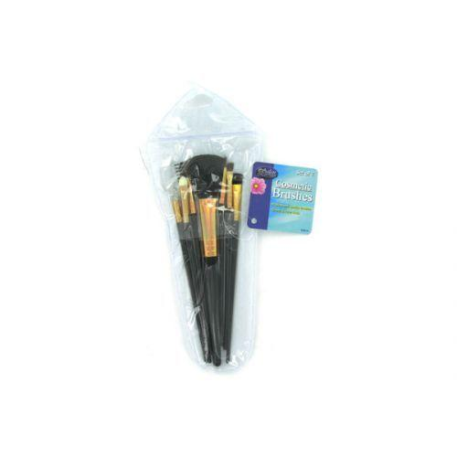 Cosmetic Brushes In Case (set Of 7) (pack of 24)