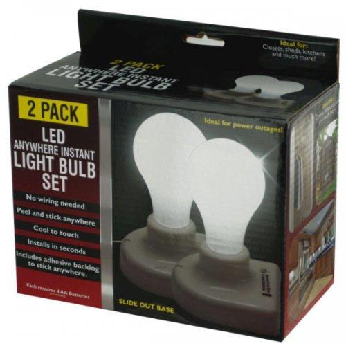 Led Anywhere Instant Light Bulb Set (pack of 4)