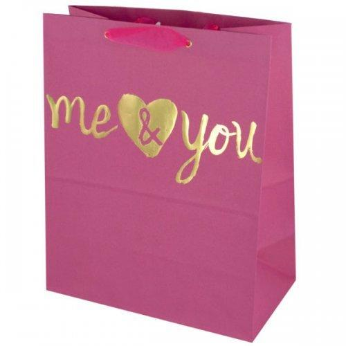 'me & You' Medium Gift Bag (pack of 36)