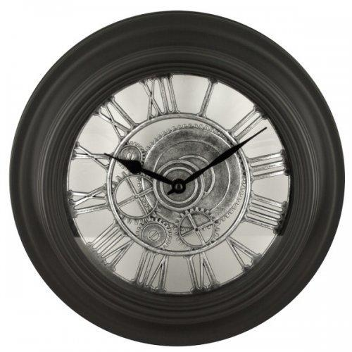 Black Gear Design Wall Clock (pack of 4)