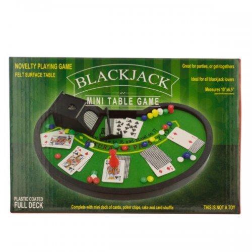 Blackjack Mini Table Game (pack of 4)