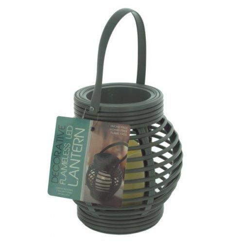 Decorative Beehive Style Lantern With Led Candle (pack of 4)