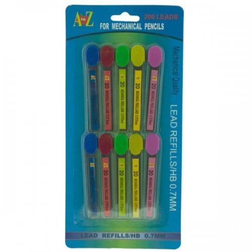 0.7mm Mechanical Pencil Lead Refills Set (pack of 24)