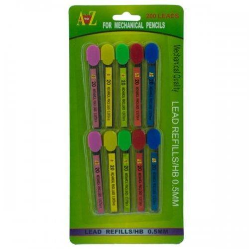0.5mm Mechanical Pencil Lead Refills Set (pack of 24)