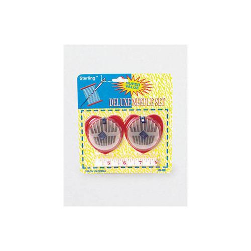 Deluxe Needle Set With Measuring Tape (pack of 24)