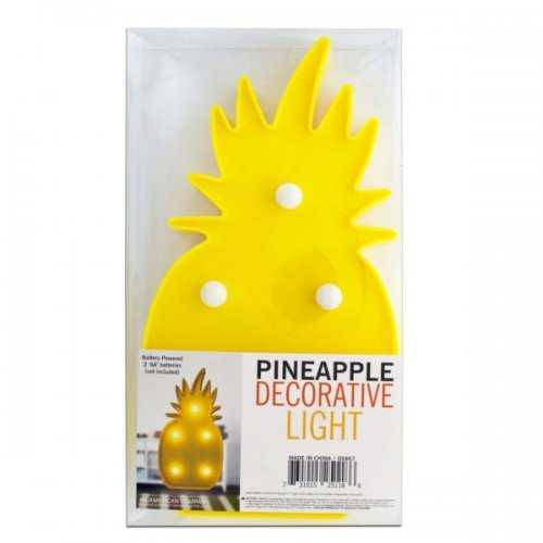 Pineapple Decorative Light (pack of 4)
