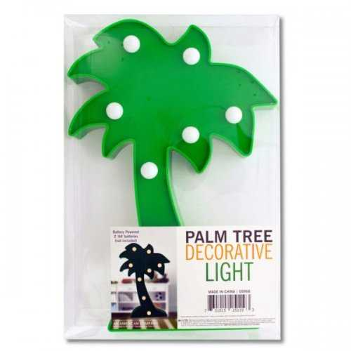 Palm Tree Decorative Light (pack of 4)