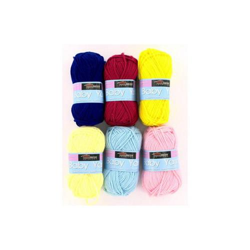 Baby Yarn (assorted Colors) (pack of 24)