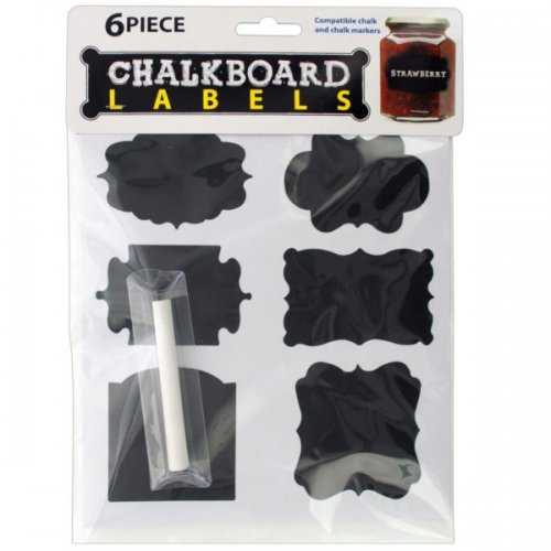 Self-adhesive Chalkboard Labels (pack of 20)