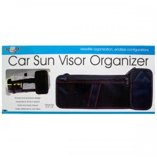 Car Sun Visor Organizer (pack of 4)