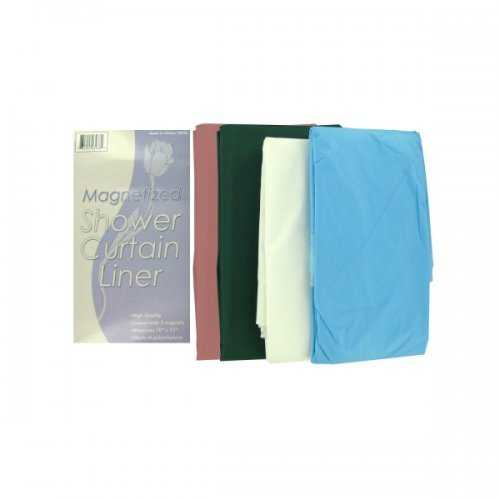 Magnetized Shower Curtain Liner (pack of 24)