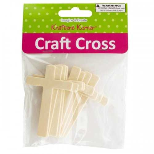Wooden Craft Crosses (pack of 20)