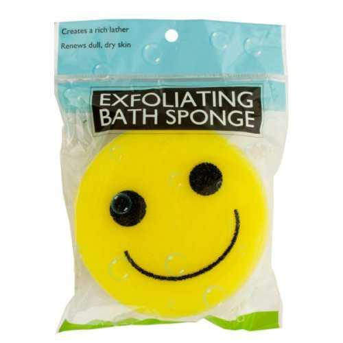 Emoticon Bath Sponge (pack of 20)