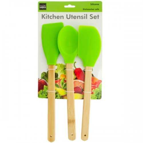 Silicone Kitchen Utensil Set (pack of 4)