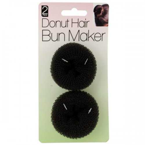 Donut Hair Bun Maker Set (pack of 20)
