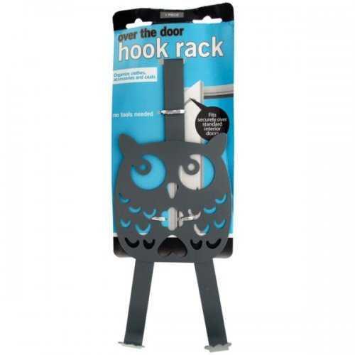 Owl Over The Door Hook Rack (pack of 10)