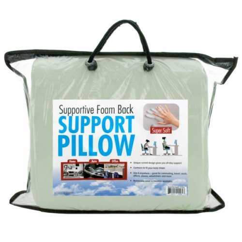 Supportive Foam Back Support Pillow (pack of 2)