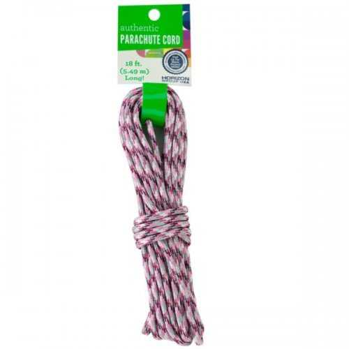 Craft Pink Plaid Authentic Parachute Cord (pack of 30)