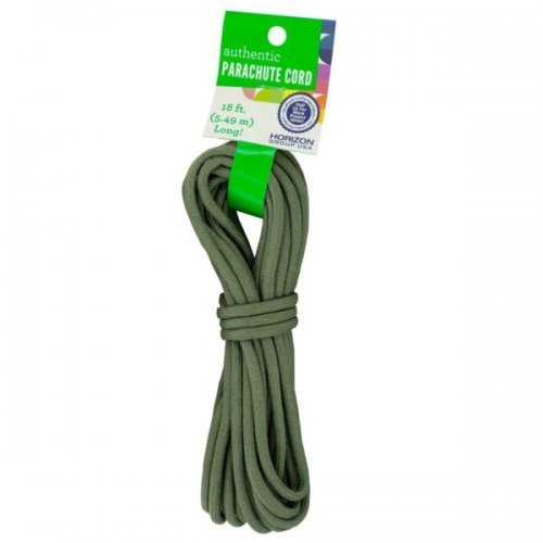 Craft Olive Green Authentic Parachute Cord (pack of 24)