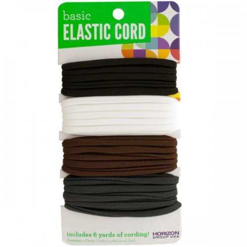 Basic Elastic Craft Cord Set (pack of 24)